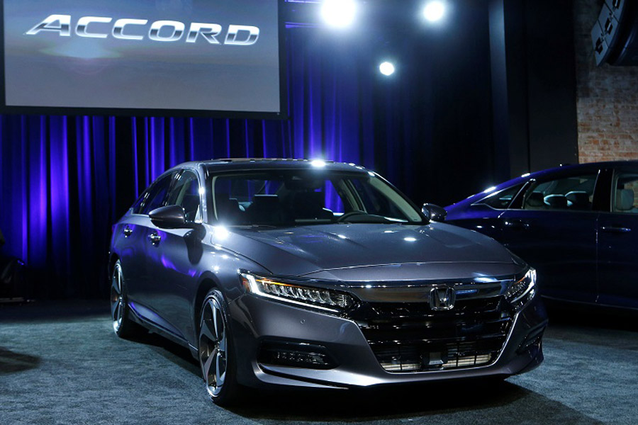 Honda Accord has Won the 2018 North American Car of the Year Award 1