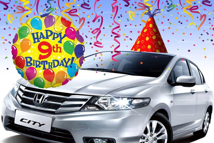 Happy Birthday Honda City 6