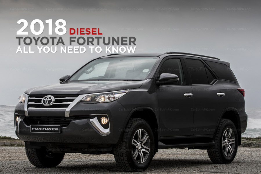 All You Need to Know About the 2018 Toyota Fortuner Diesel 22