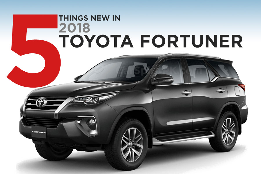 5 Key Features of the New 2018 Toyota Fortuner 1