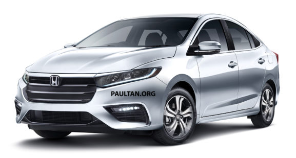 Next Gen Honda City Spied Testing for the First Time 4