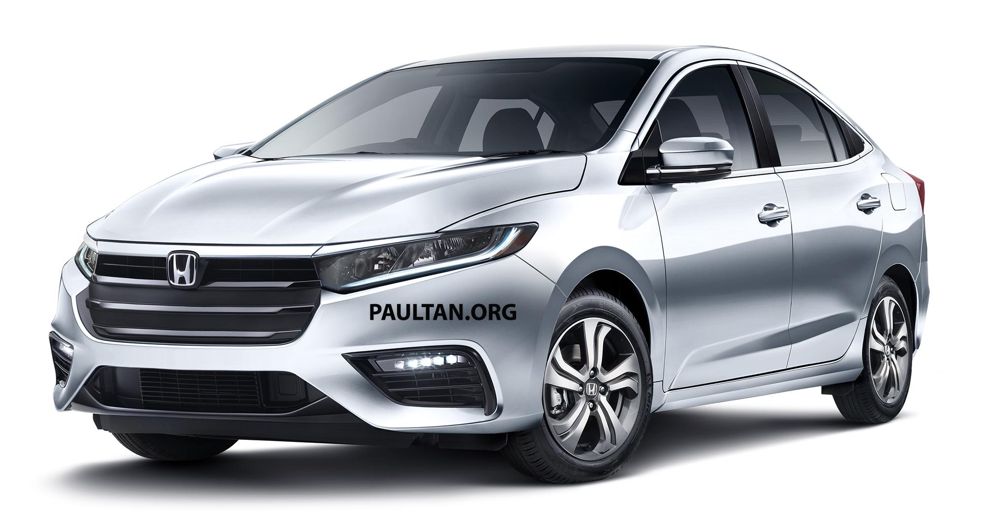 Next Generation Honda City Renderings 1