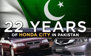 22 Years of Honda City in Pakistan 2