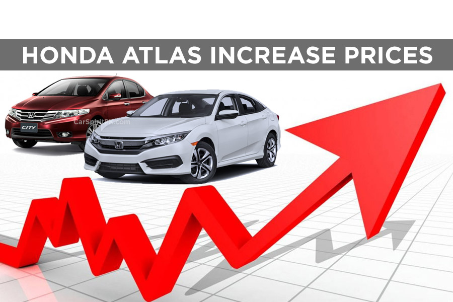 Honda Car Prices Revised Carspiritpk