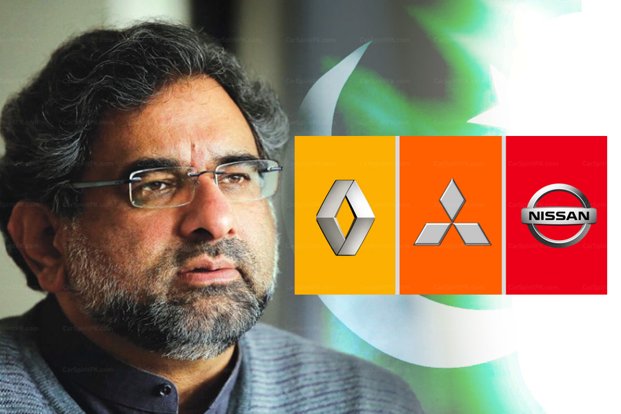 PM Shahid Khaqan Abbasi Invites Groupe Renault to Consider Pakistan as Next Investment Destination 1