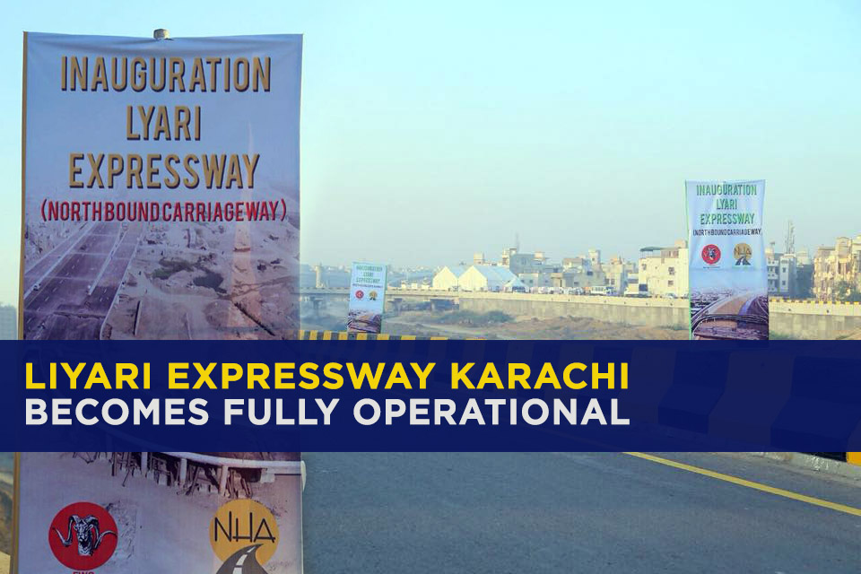 Liyari Expressway Becomes Fully Operational After 15 Years 1