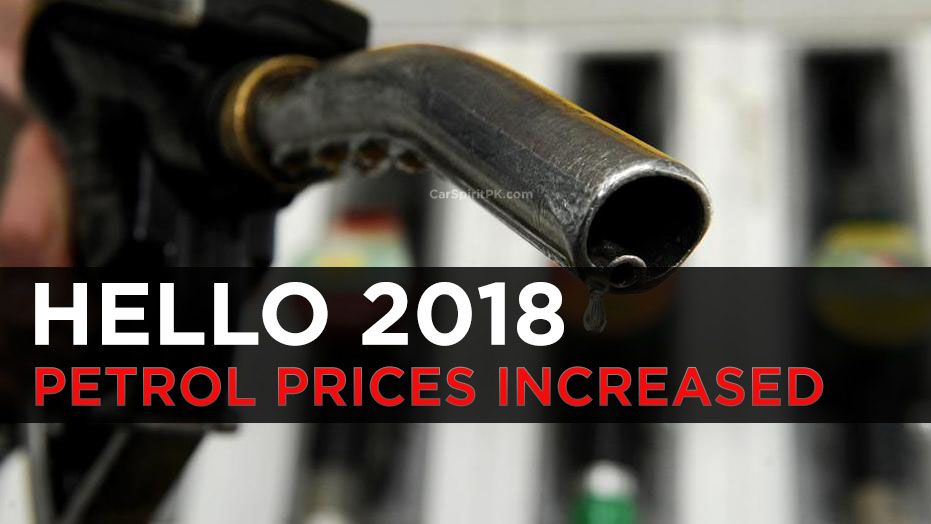 Petrol Prices Increased From 1st January 2018 1
