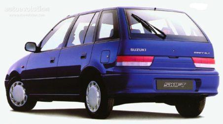 Suzuki Swift- All Generations 4