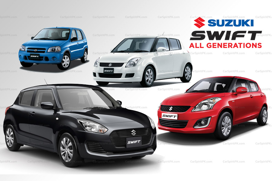 Suzuki Swift- All Generations 1