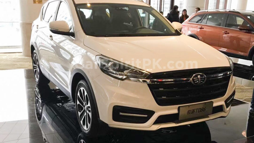 FAW to Launch the new T086 SUV at Beijing Auto Show 2018 5