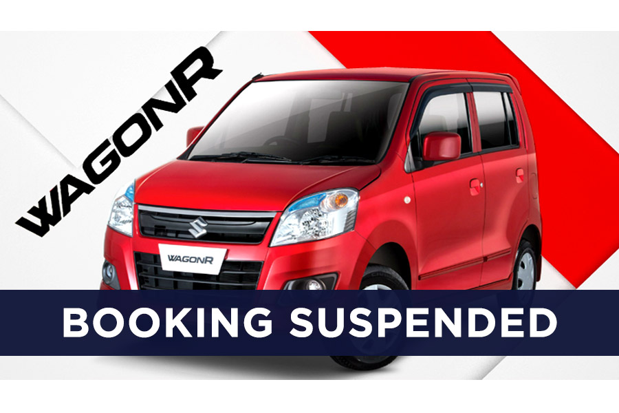 Pak Suzuki Suspends WagonR Bookings 2