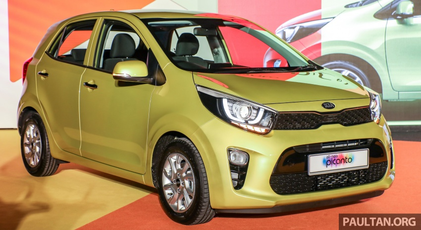 2018 Kia Picanto launched in Malaysia 2