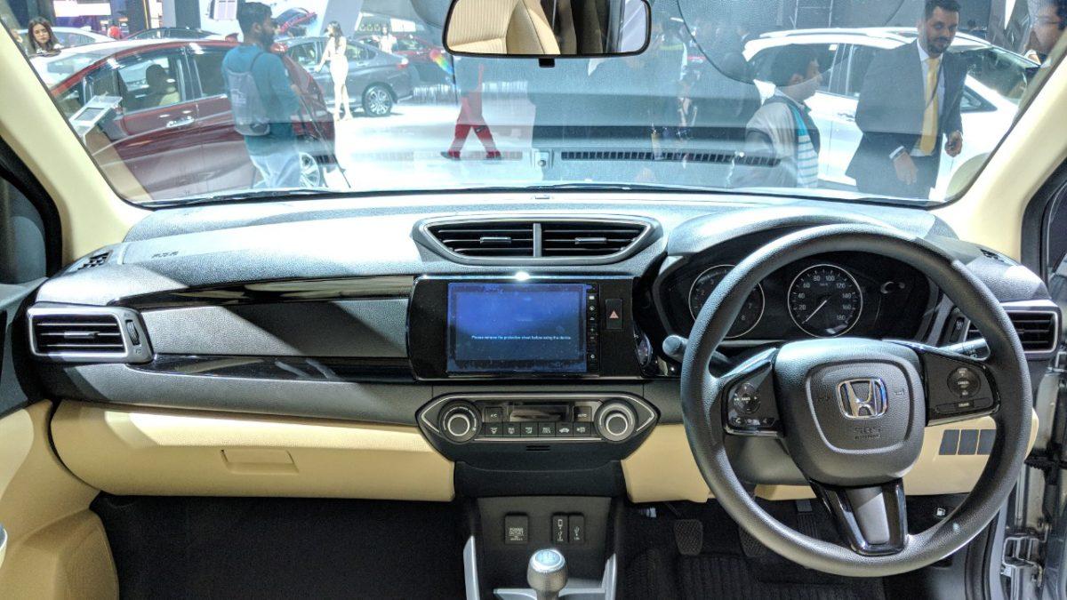 2018 Honda Amaze Debuts at Auto Expo 1