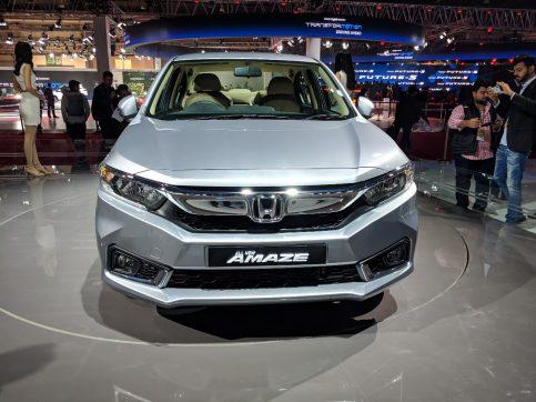 2018 Honda Amaze Debuts at Auto Expo 5