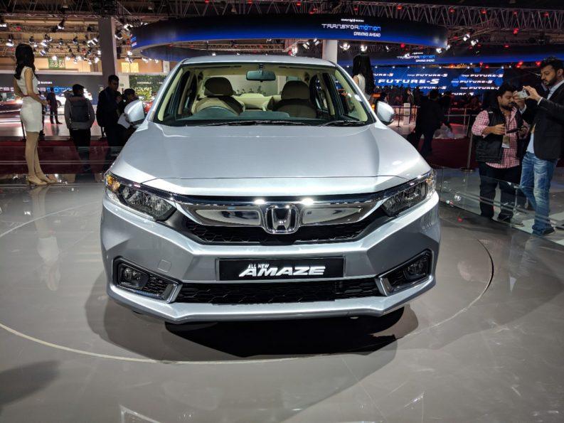 2018 Honda Amaze Debuts at Auto Expo 4