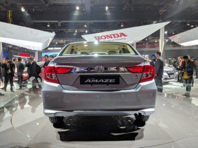 2018 Honda Amaze Debuts at Auto Expo 6