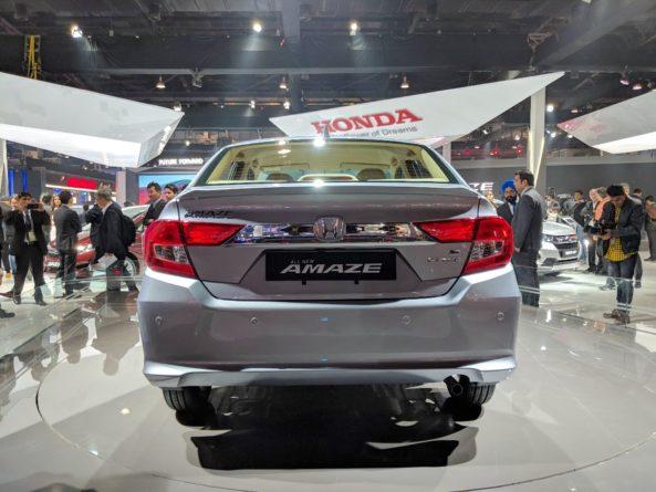 2018 Honda Amaze Debuts at Auto Expo 3