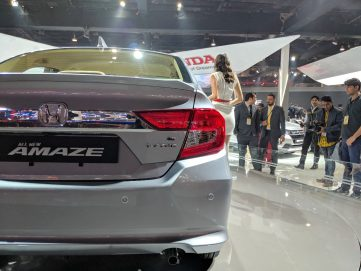 2018 Honda Amaze Debuts at Auto Expo 12
