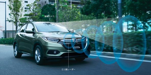 2018 Honda Vezel/ HR-V Facelift Launched 6