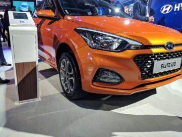 2018 Hyundai i20 Facelift at Auto Expo 2018 2