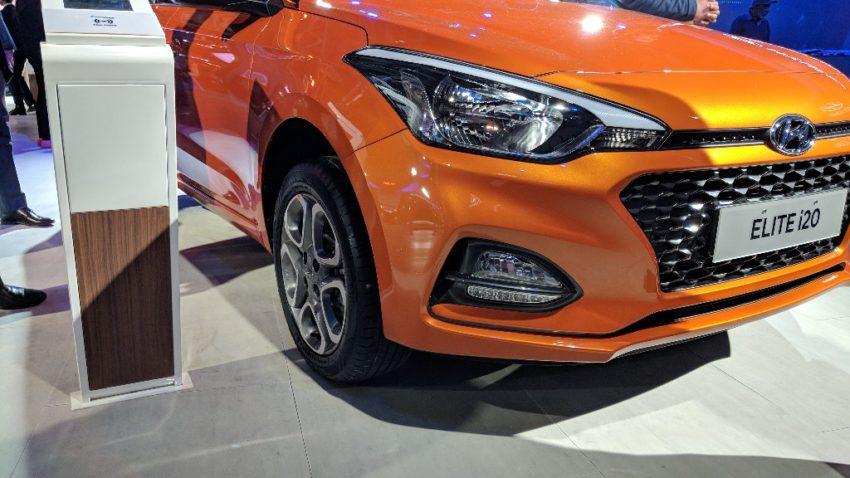2018 Hyundai i20 Facelift at Auto Expo 2018 4