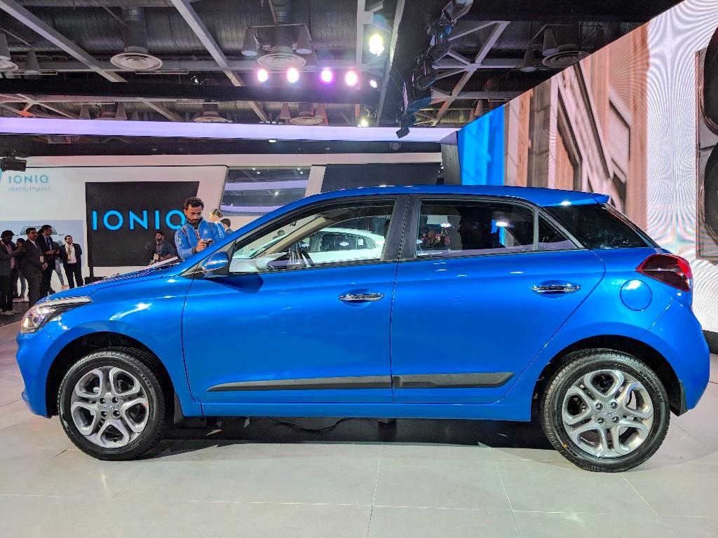 2018 hyundai i20 facelift at auto expo 2018 carspiritpk. Black Bedroom Furniture Sets. Home Design Ideas