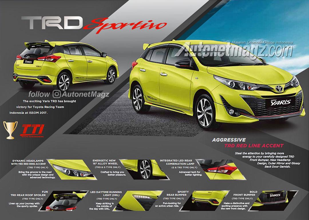 2018 Toyota Yaris TRD Sportivo Brochure Leaked 1