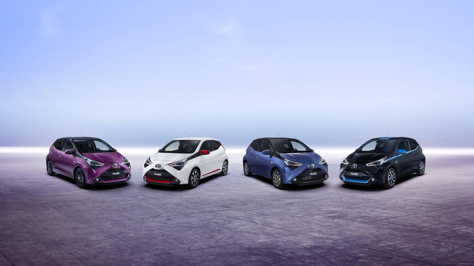 2018 Toyota Aygo Facelift Previews Ahead of Geneva 5