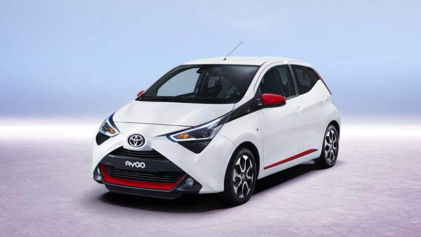 2018 Toyota Aygo Facelift Previews Ahead of Geneva 4