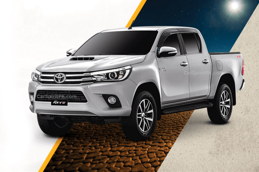 2018 Toyota Hilux Revo Launched with New 2.8L Engine 1