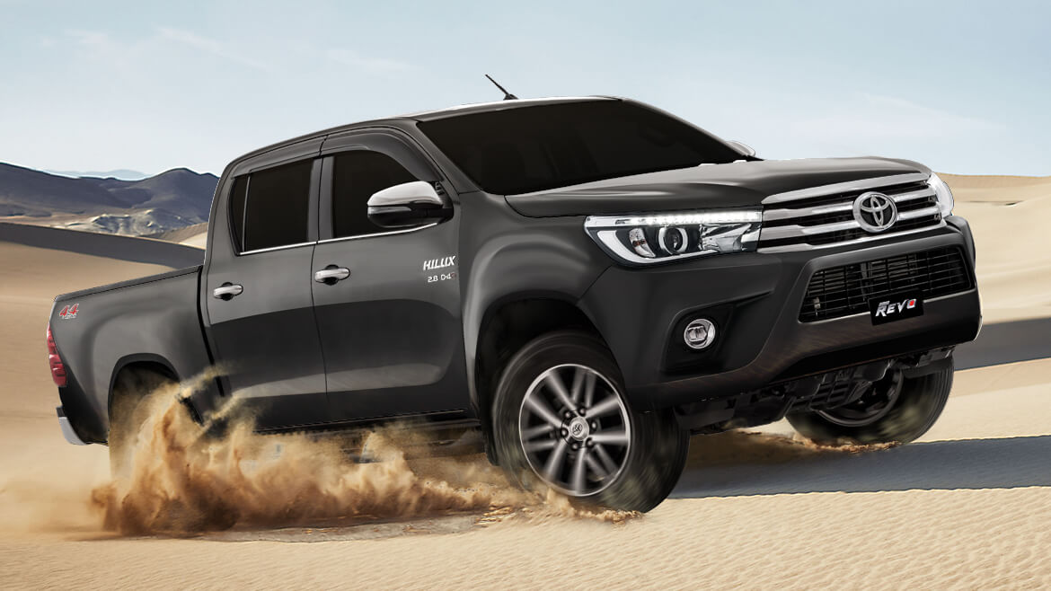 2018 Toyota Hilux Revo Launched with New 2.8L Engine 4