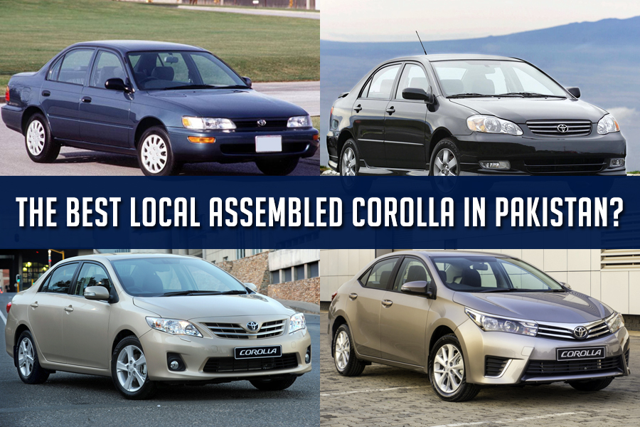 The Best Local Assembled Toyota Corolla in Pakistan? 1