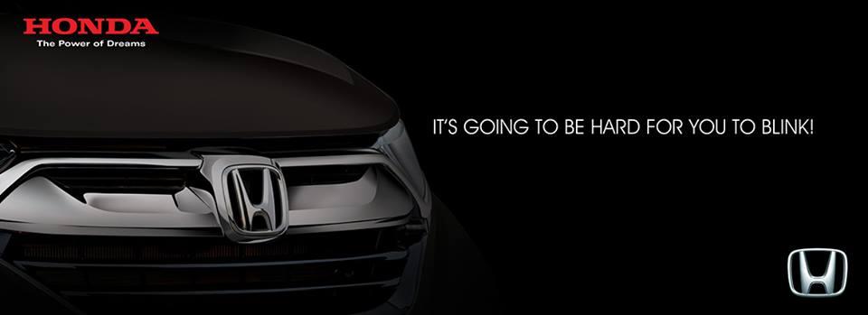 Honda Atlas Teases the New 2018 CR-V 1