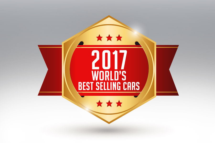 2017- Best Selling Cars of the World 1
