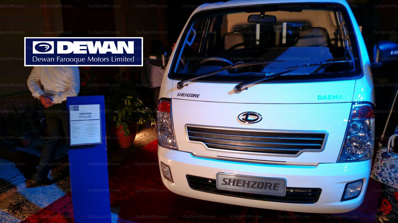 Dewan Launches the New 2018 Shehzore Pickup 1