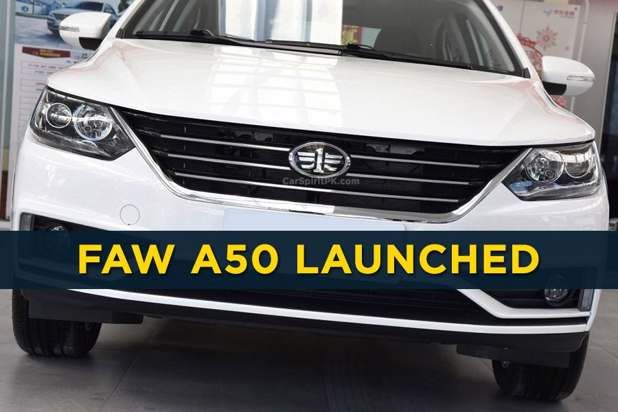 FAW A50 Sedan Launched in China 10