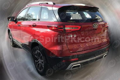 Spy Shots: FAW R9 SUV Ready for China Debut 2