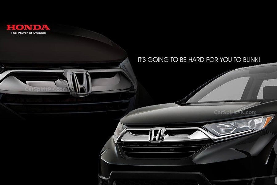 Honda Atlas Teases the New 2018 CR-V 1