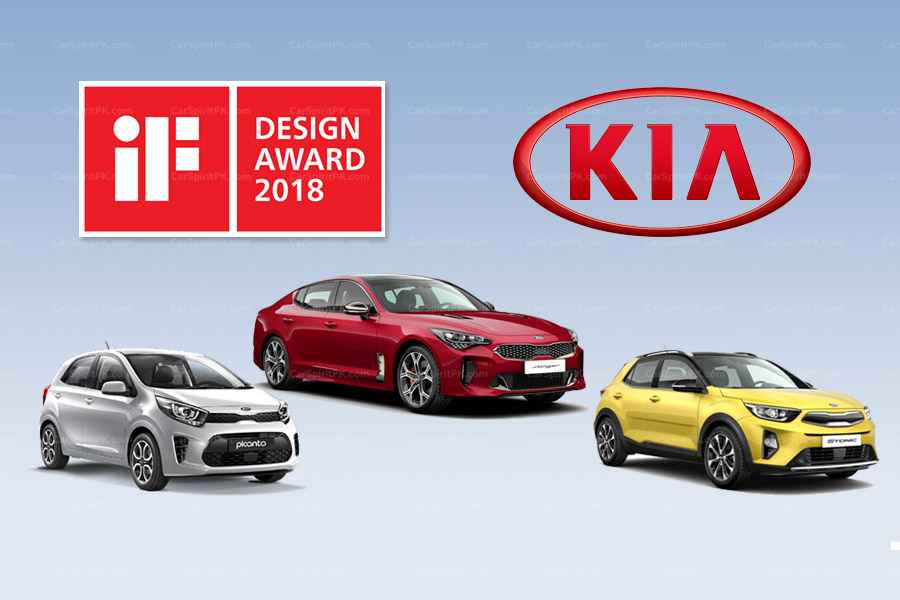 KIA Won Three iF Design Awards for 2018 2