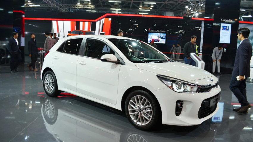 KIA Rio at Auto Expo 2018 4
