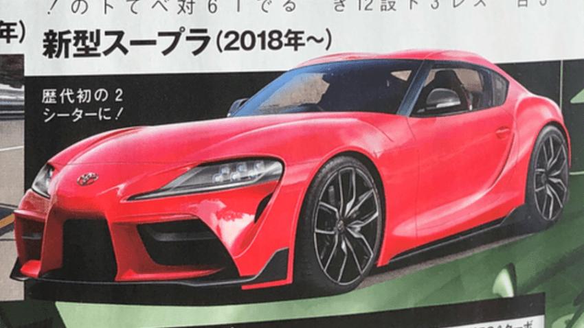 2019 Toyota Supra: Renderings and Statistics Leaked 6