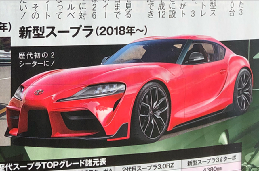 2019 Toyota Supra: Renderings and Statistics Leaked 20