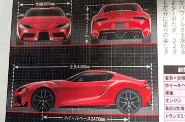 2019 Toyota Supra: Renderings and Statistics Leaked 4