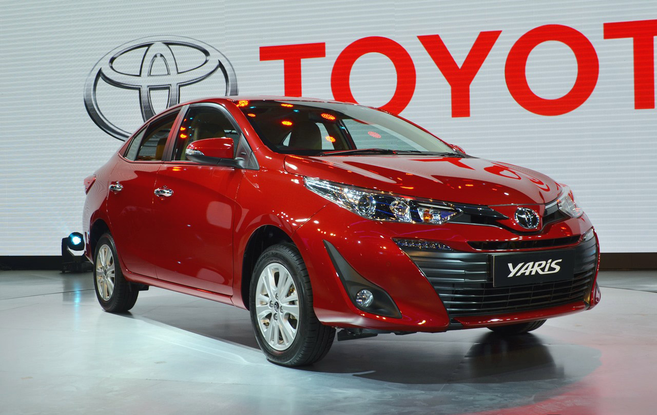 Toyota Yaris Sedan Debuts at Auto Expo 2018 1