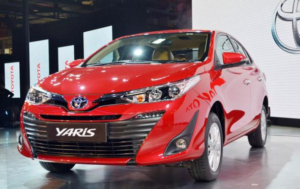 Toyota Yaris Sedan Debuts at Auto Expo 2018 1