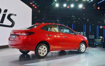 Toyota Yaris Sedan Debuts at Auto Expo 2018 3