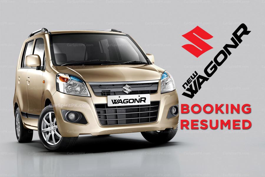 Pak Suzuki Resumes WagonR Bookings 6
