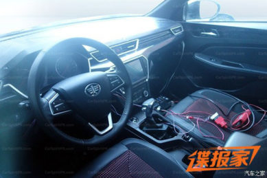 FAW Jumpal Wagon Interior Spied- Launch Expected by April 2018 3