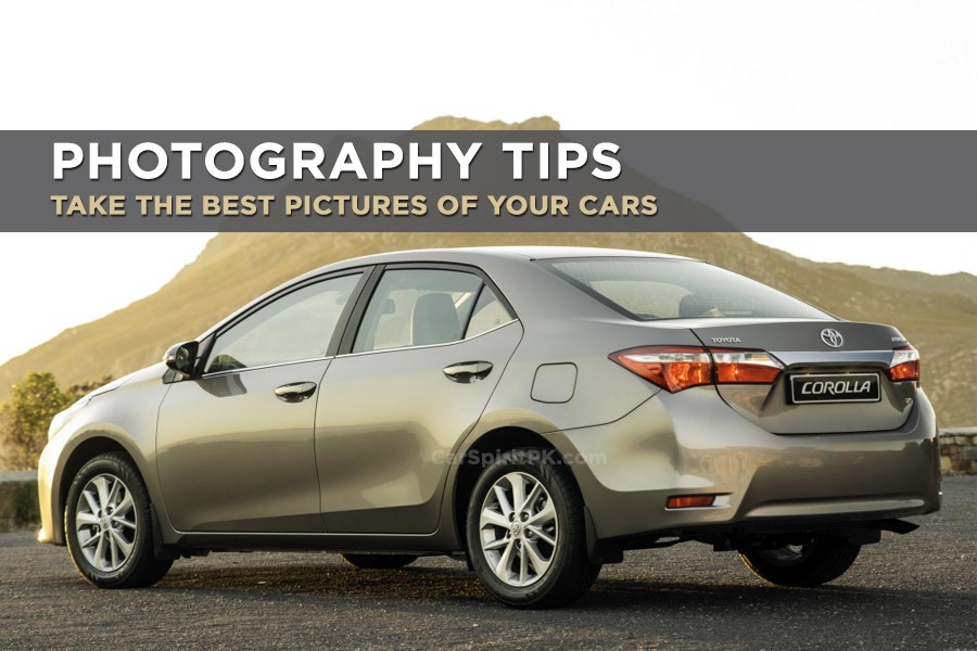 Photography Tips: Take the Best Pictures of Your Cars 1