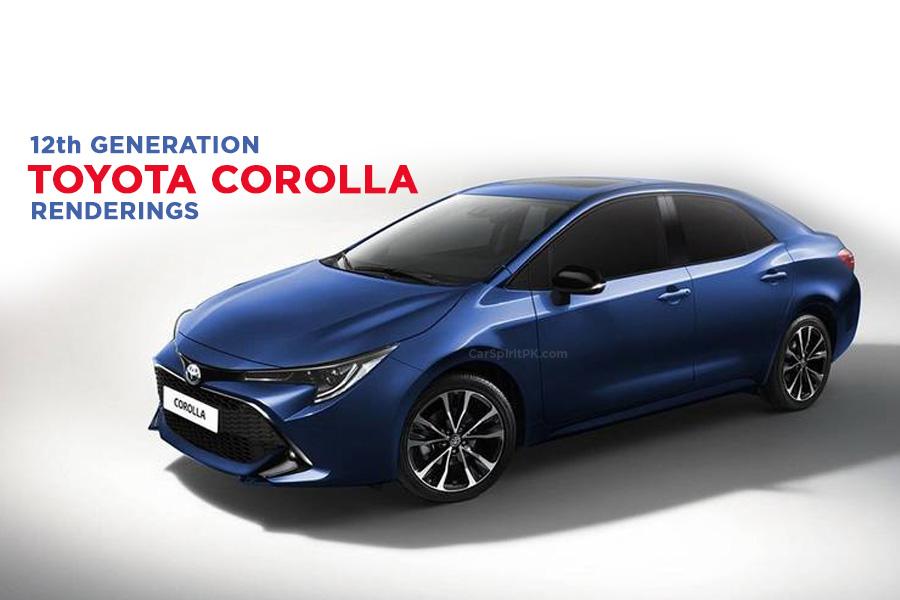 12th Generation Toyota Corolla Rendered.. 11
